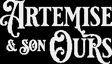 Logo Typo ARTEMISE et son Ours gris