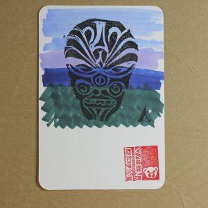 Carte Memento Maoris 11