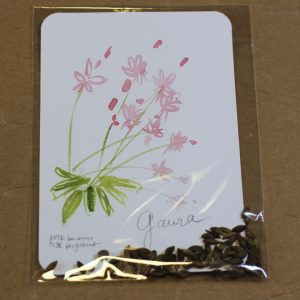 Carte Graine Gaura